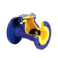 Клапан обратный канализационный фланцевый ZETKAMA 400B - фото