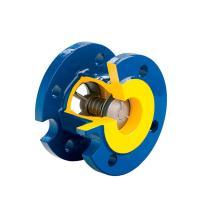 Клапан обратный подпружиненный межфланцевый ZETKAMA 407A - фото