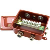 Коробка клеммная КЗНС-08 с наборными зажимами - фото