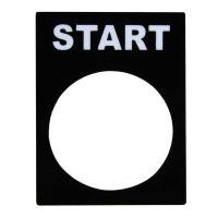 Табличка маркировочная START - фото